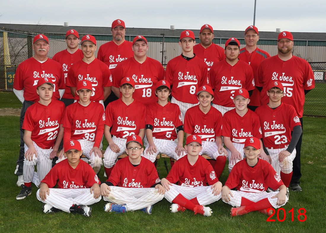 St. Joes 2018 Teener League Team