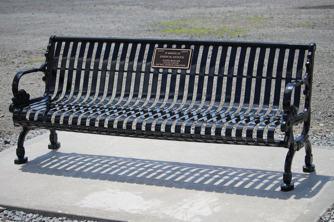 Joe Krinock Dedication Bench